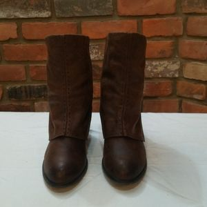 Not Rated Brown Heeled Boots